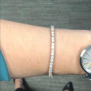 Jewelry - Sterling silver CZ bracelet